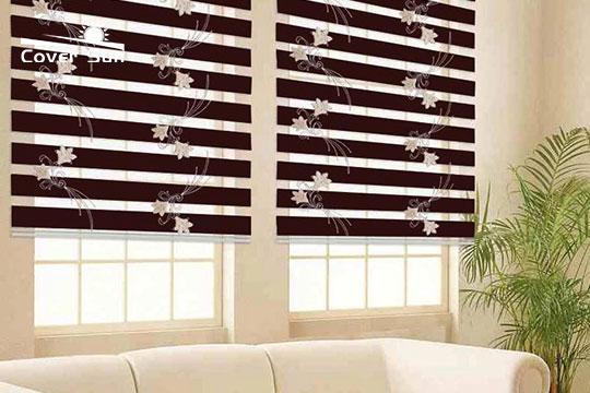 zebra blinds 3d model